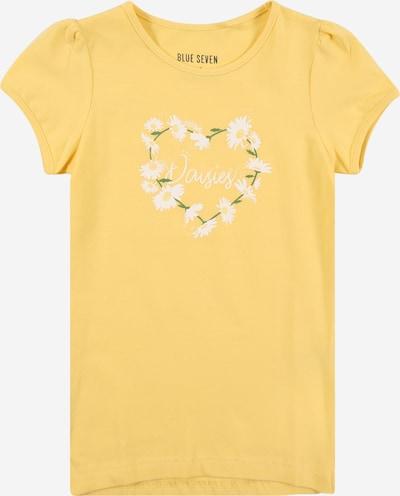BLUE SEVEN T-Shirt in gelb / grün / weiß, Produktansicht
