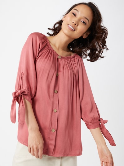 Hailys Bluse 'Eliana' in rosé, Modelansicht
