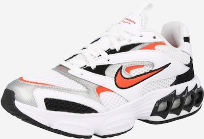 Nike Sportswear Zemie brīvā laika apavi 'Zoom Air Fire', krāsa - pelēks / tumši oranžs / melns / balts, Preces skats