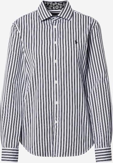 POLO RALPH LAUREN Bluza 'Georgia' u crna / bijela, Pregled proizvoda