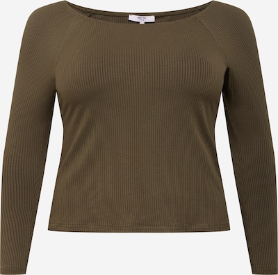 ABOUT YOU Curvy Shirt 'Juli' in khaki, Produktansicht