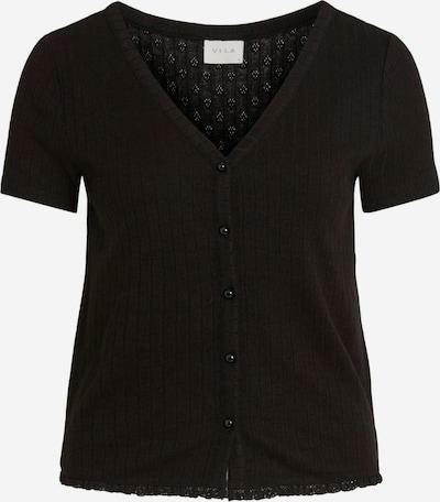VILA Strickjacke 'SIMA' in schwarz, Produktansicht