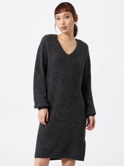 OBJECT Kleid 'NETE' in dunkelgrau, Modelansicht