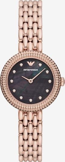 ARMANI Uhr in rosé, Produktansicht