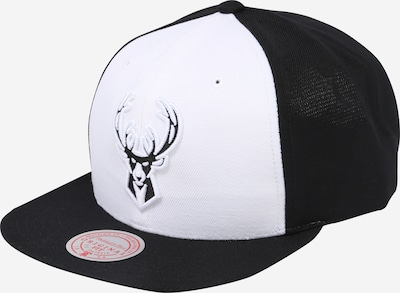 Mitchell & Ness Cap en schwarz / weiß, Vue avec produit