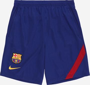 NIKE Sportbyxa 'FC Barcelona Academy Pro' i blå