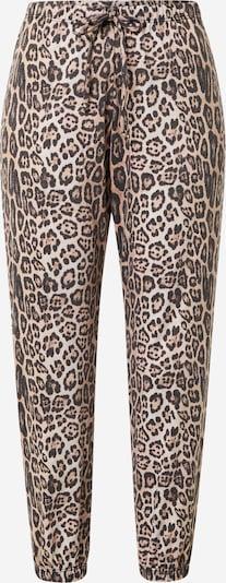 Onzie Pantalon de sport en marron / brun foncé / blanc, Vue avec produit