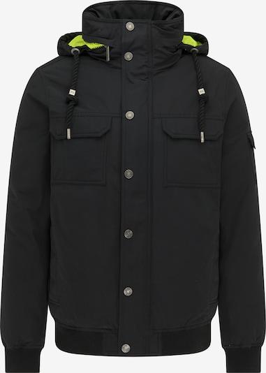 MO Winterjas in de kleur Neongroen / Zwart, Productweergave