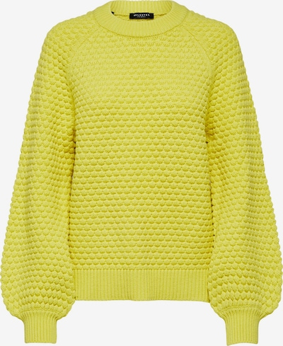 SELECTED FEMME Pullover in gelb, Produktansicht