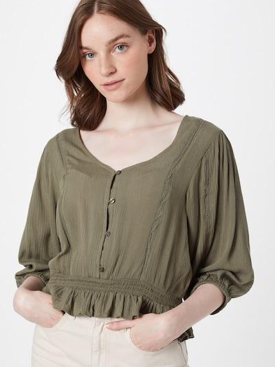 Hailys Bluse 'Lea' i khaki, Modelvisning
