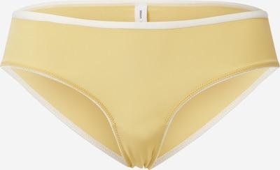 Samsoe Samsoe Slip 'Yella' en jaune / blanc, Vue avec produit