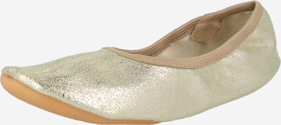 BECK Gymnastikschuhe 'Basic' in gold, Produktansicht