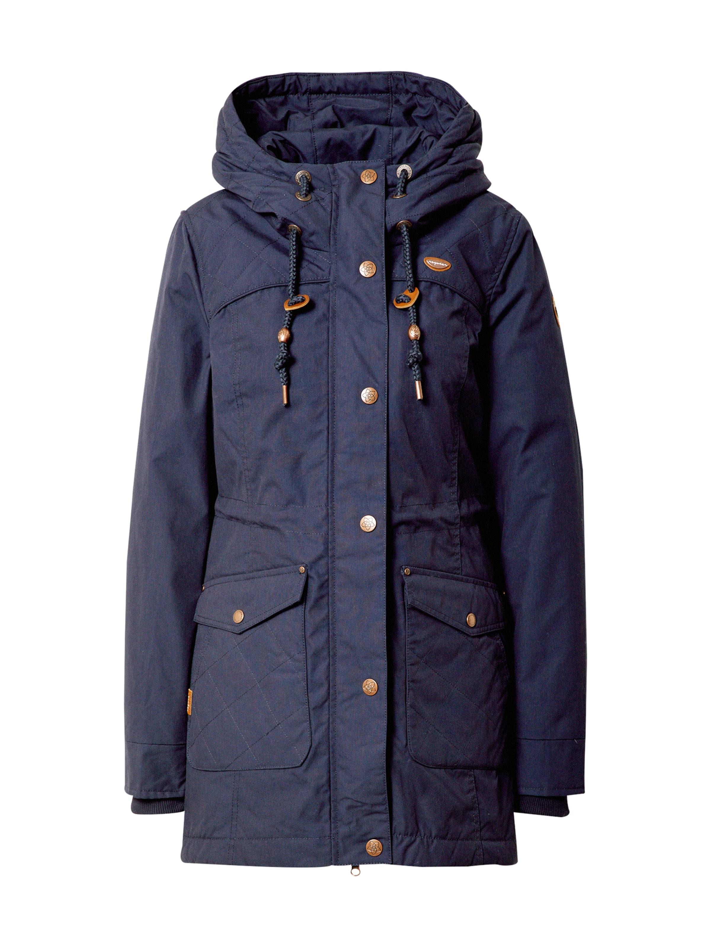 Ragwear Vinterkappa 'Malati' i marinblå