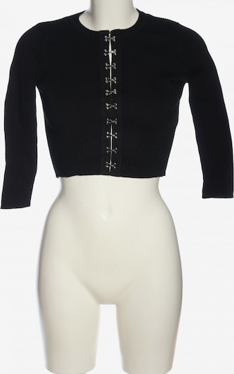 ZARA Cardigan in S in schwarz, Produktansicht
