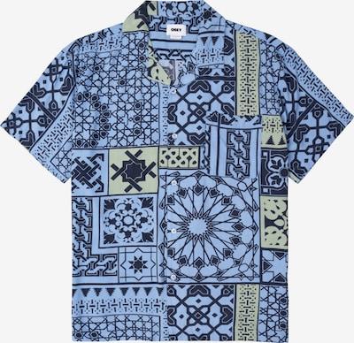 Obey Hemd in blau / rauchblau / dunkelblau, Produktansicht