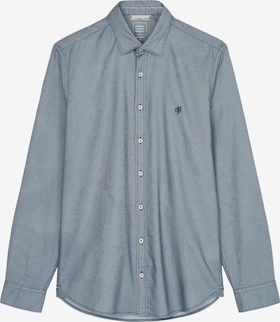 Marc O'Polo Hemd in marine / rauchblau, Produktansicht