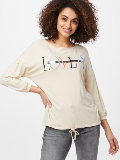 STREET ONE Shirt in beige / mischfarben: Frontalansicht