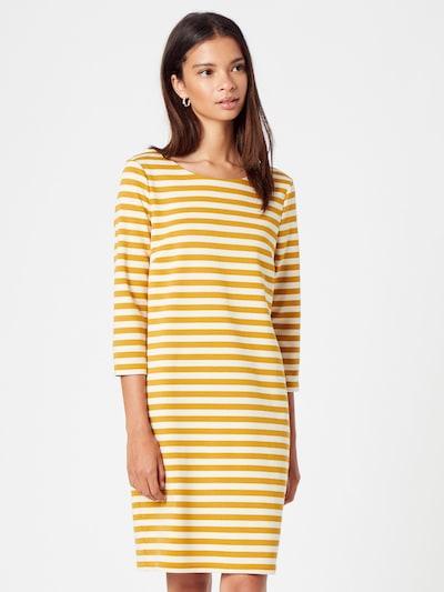 VILA Šaty 'Tinny' - šafránová / biela, Model/-ka