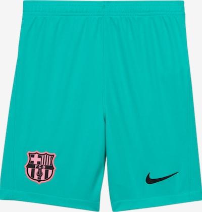 NIKE Hose 'FC Barcelona' in blau / grün, Produktansicht
