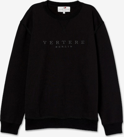 Vertere Berlin Sweatshirt in schwarz, Produktansicht