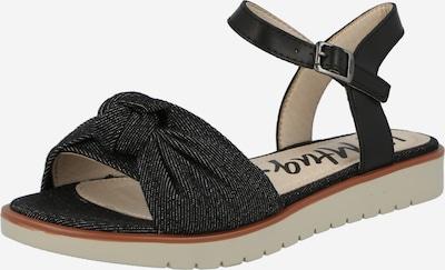 MTNG Sandales 'MARIE' en noir / blanc, Vue avec produit