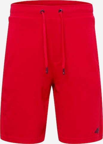 4F Sportsbukser i rød