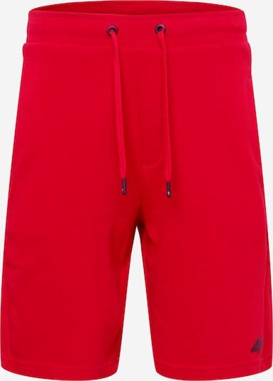 4F Sporthose in rot / schwarz, Produktansicht
