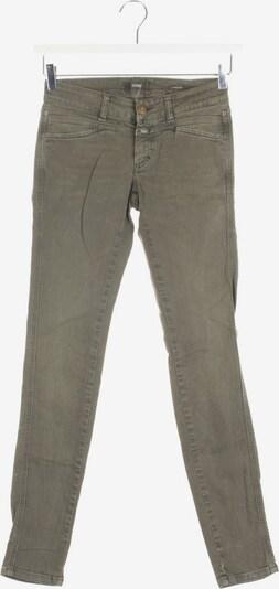 Closed Jeans in 25 in dunkelgrün, Produktansicht