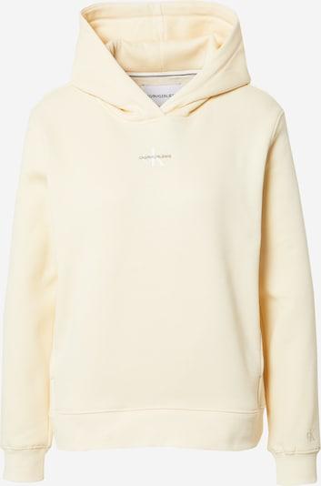 Calvin Klein Jeans Sweatshirt in Cream / Black / White, Item view