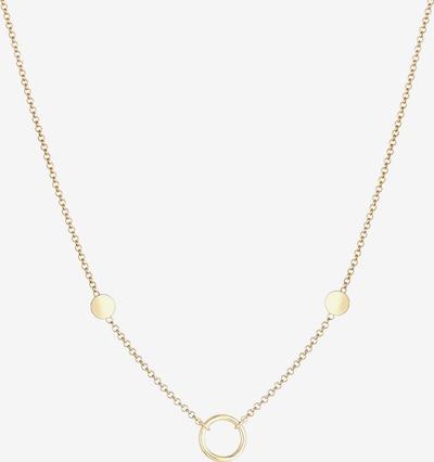 ELLI Halskette Kreis in gold, Produktansicht
