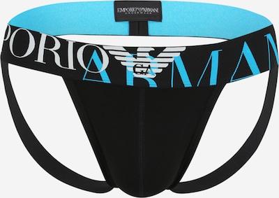 Emporio Armani Slip in blau / schwarz, Produktansicht