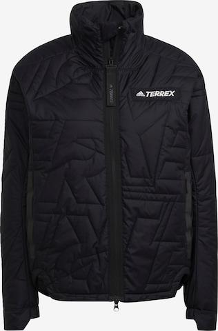 ADIDAS PERFORMANCE Outdoor Jacket 'Myshelter' in Black