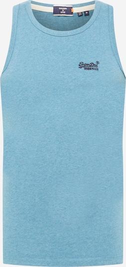 Superdry T-Shirt en bleu / noir, Vue avec produit
