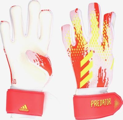 ADIDAS PERFORMANCE Handschuh in gelb / rot / weiß, Produktansicht