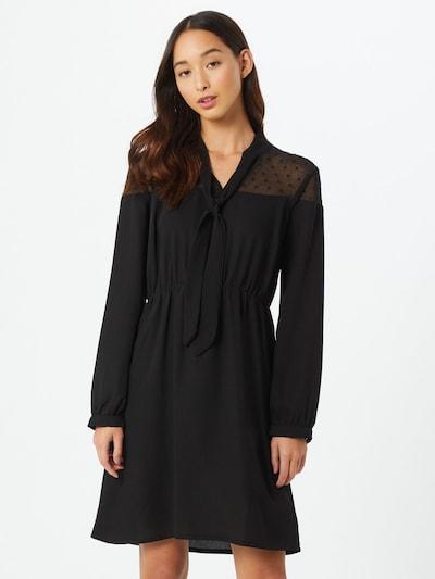 ABOUT YOU Robe 'Elvira' en noir, Vue avec modèle