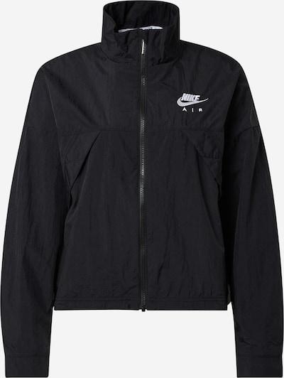 Nike Sportswear Преходно яке в черно / бяло, Преглед на продукта