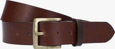 Gusti Leder Ledergürtel Braun 'Jori' in braun / dunkelbraun, Produktansicht