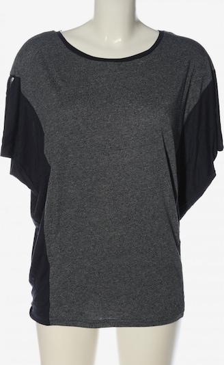 BENCH Oversized Shirt in M in hellgrau / schwarz, Produktansicht