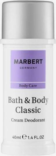 Marbert Deodorant Cream in weiß, Produktansicht