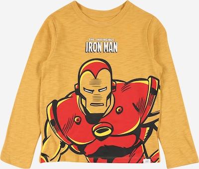 GAP Shirt in gelb / senf / rot / schwarz / weiß, Produktansicht
