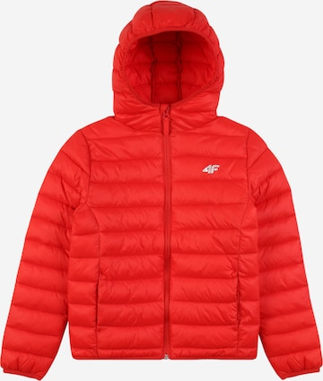 4F Sports jacket in Red