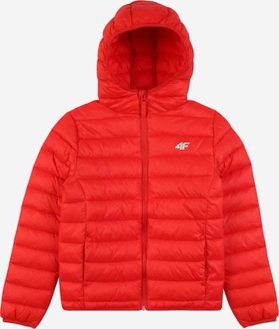 4F Sportjacke in rot / weiß, Produktansicht