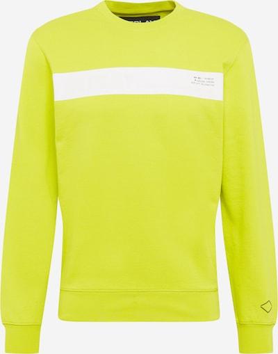 REPLAY Sweater majica u žuta / bijela: Prednji pogled