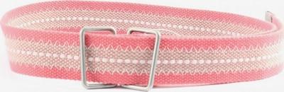 EDC BY ESPRIT Canvasgürtel in XS-XL in pink / wollweiß, Produktansicht