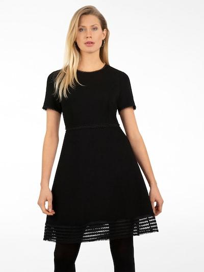 APART Kleid aus Scuba ähnlichem Jersey in schwarz, Modelansicht