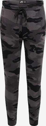HOLLISTER Панталон в сиво / светлосиво / черно, Преглед на продукта