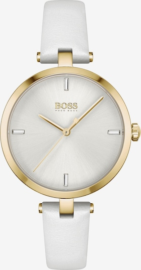BOSS Casual Analog Watch in Gold / White, Item view