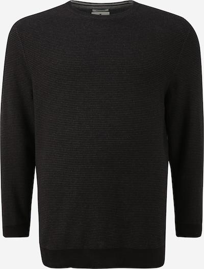 TOM TAILOR Men Plus Pullover in schwarz, Produktansicht