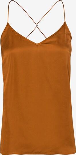 zero Bluse in orange: Frontalansicht