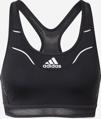 ADIDAS PERFORMANCE Sport-BH 'Believe This' in schwarz / weiß, Produktansicht